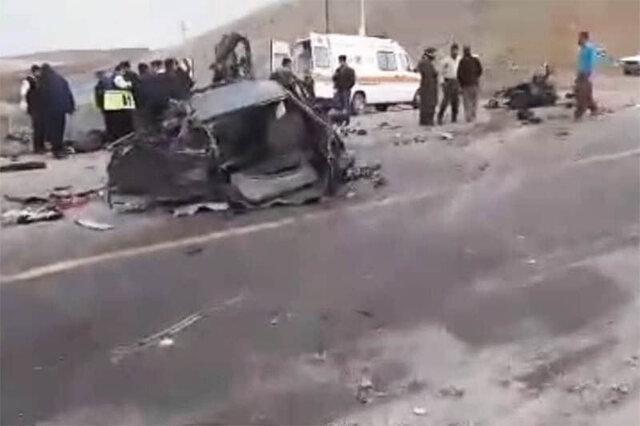بی احتیاطی در جاده های کردستان 2 کشته برجای گذاشت