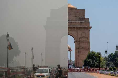 کاهش چشمگیر آلودگی هوا در چند شهر بزرگ جهان