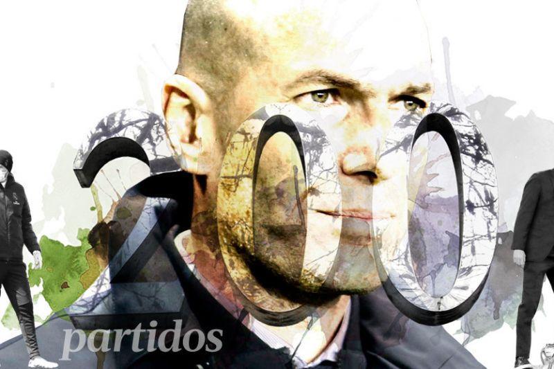 زیدان و دویستمین بازی روی نیمکت رئال مادرید؛ یک عمر افتخار