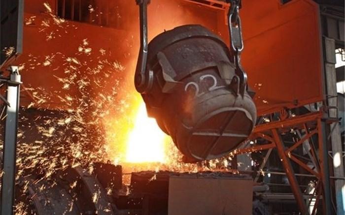 فراوری شمش فولاد کشور از مرز 14 میلیون تن گذشت