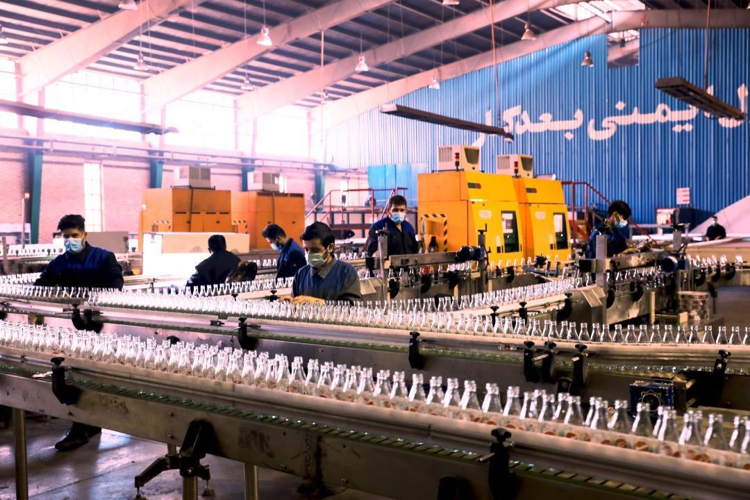 تامین 20 درصد احتیاج بطری کشور در کارخانجات شیشه سازی بنیاد مستضعفان، صادرات 35 هزار تُنی در سال
