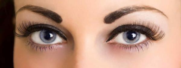کدام مدل ابرو برای چشم های درشت مناسب است؟