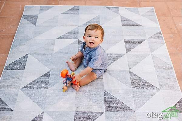 بهترین مارک فرش اتاق کودک؛ انتخاب بهترین فرش برای اتاق بچه ها